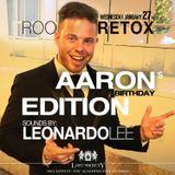 LEONARDO LEE [ Sunglass Sundays ] ROOFTOP RETOX [ Aaron McMillan Bday Mix ] @ LOST SOCIETY-01/27/16