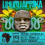 Uhuru Afrika Live : March 2016 ft. Adam Gibbons + Myk 2Melo