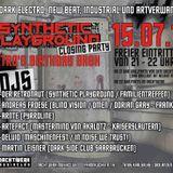 "15.07.16 ""Synthetic Playground Closing"" @ Nachtwerk Karlsruhe Part I"