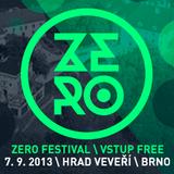 W.Dj @ ZERO festival Veveří 2013