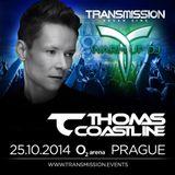 Thomas Coastline live @ TRANSMISSION 2014 (Seven Sins)