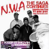 NWA .. The Saga Continues by digumsmak .. Swurv Radio .. Aug 22nd 2015