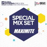 MAXIMITE Global Gathering Korea 2014 Mix Set