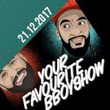 Your favourite Bboyshow | 21.12.17 | mit Studiogast Popping Mike 2017 Revue passieren lassen