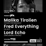 MIMS Radio Session #006 - Malika Tirolien, Fred Everything, Lord Echo