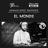 Bondage-Music Radio - BMR 131 mixed by El Mundo - 19.04.2017
