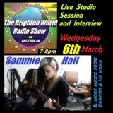 brighton world radio show with donald shier- Sammie Hall live - 6th March 2019