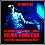 2017 NEURO-FUNK DNB◉UNITED RECORDS //THE UNITED STATE OF DNB ⚡︎ RADIO ANNIVERSARY EDITION BC⚡︎➒