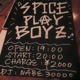 Spice PlayboyZ featuring Toshizo Shiraishi @ HAPPY MOUNTAIN BAR(2015/11/14)