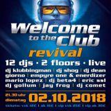 3 Dj Shog live @ Welcome to the club revival 2.10.18