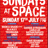 Steve Parry, Live at Space, Ibiza - Premier Etage, (roof terrace) for Selador 17th July 2016