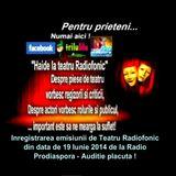 Va ofer tuturor prietenilor care nu ati fost in direct la Radio Prodiaspora in data de 19 Iunie 2014
