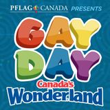 LADY COLECO @ GAY DAY CANADAS WONDERLAND 2014