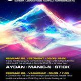 Aydan, ManicN, Stick - Coronita Live (2012 02 25)