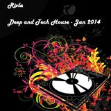 Rivla - Jan 2014 Deep and Tech House Mix