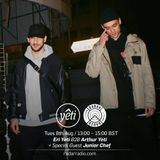Radar Radio x Yeti Out - Eri Yeti b2b Arthur Yeti + special guest  Junior Chef