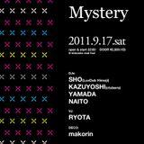 DJ sho&kazuyoshi / 2011-9-17 Mystery @club four  4:30am~