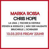 Schrader @ Impulse pres. Marika Rossa, Ponyhof Darmstadt //13.03.15