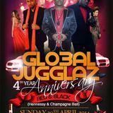 GLOBAL JUGGLAZ - 4 th YEAR ANNIVERSARY PROMO MIX
