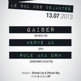 Hervé Ak Mix @ Destructuré 13/07/2013