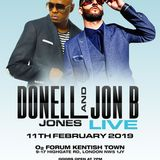 R&B ICONS: Donell Jones & Jon B LIVE @ O2 FORUM. 11th FEB 2019: Mixed by DJ Kopeman