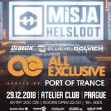BluEye @ All Exclusive w/ Misja Helsloot - Prague 29-12-2018