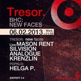 WALL MUSIC PODCAST #6 - MASON RENT Live* at TRESOR BERLIN - 06.02.2013