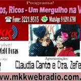 Programa Raros Ricos Um Mergulho na Vida 01.08.2017 - Dra Zeferina e David Brandão