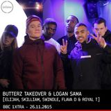 Butterz Takeover [Swindle, Royal-T, Flava D, Elijah & Skilliam] - BBC 1xtra - 26.11.2015