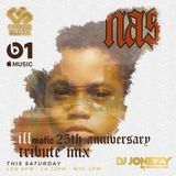 DJ Jonezy x Beats1 - Nas Mini Mix - Charlie Sloth Rap Show