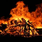 To build a bonfire