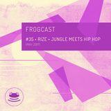 Frogcast 35: Rize - Jungle Meets Hip Hop (May 2017)
