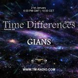 Gians - Guest Mix - Time Differences 298 (21st January 2018) on TM Radio