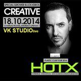 VK STUDIO live @ CREATIVE w/HOTx  Chapeau Rouge Prague 18/10/2014