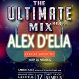 Nemesis - The Ultimate Mix Radio Show 24/2/2015 (Guest Alex D'elia)