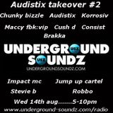 HEADLINE SET!!!....Chunky bizzle, impact mc, brink, kuedon at the Audistix takeover#2