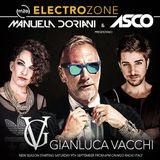 Electrozone vs Gianluca Vacchi puntata del 9 settembre 2017