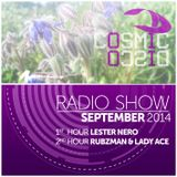 Cosmic Disco Radioshow - SEPTEMBER 2014