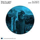 Give it a spin! (Niki Sorogas Dj Set) #S03E04 -15/01/19 - on Paranoise Radio