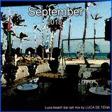 Luca beach bar set September 2018