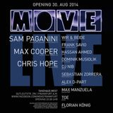 Frank Savio @ Move Opening (Mainfloor)  30-08-2014