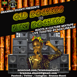 Old Rockers vs New Rockers Mixtape live toasting Aza Lineage