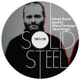 Solid Steel Radio Show 19/1/2018 Hour 1 - Steven Rutter aka B12 (Warp Records, FireScope Recordings)