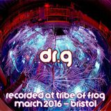 Dr.G - Recorded at Tribe of Frog March 2016