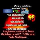 Inregistrarea emisiunii de la Radioprodiaspora din data de  27 -11 -2014 - teatru radiofonic ...
