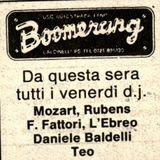 Boomerang - DJ Mozart & Rubens 21-5-1982 Bambule Party