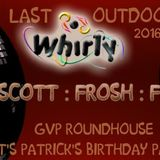 FROSH live at the last outdoor Whirly 2016 9-28-16