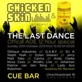 Oblique Industries (LIVE) @ CUE Bar, Amsterdam Dance Event Closing Party 19-10-13