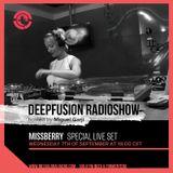 Missberry Live @ Ibiza Global Radio Sept 2016 - Deepfusion 124bpm by Miguel Garji