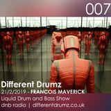 Francois Maverick Liquid Drum and Bass Show. Different Drumz DNB Radio 007